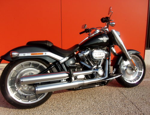 HARLEY-DAVIDSON – FAT BOY 114